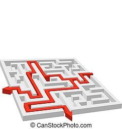 Labyrinth - maze puzzle