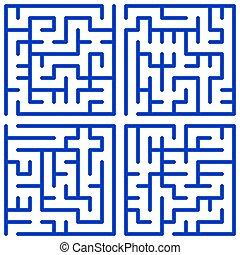 labyrinth, satz