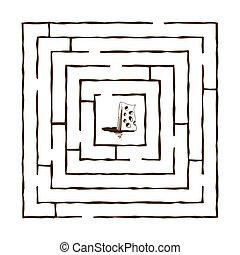 labyrinthe, 3