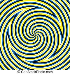 labyrinthe, hypnotique