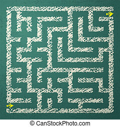 labyrinthe, illustration