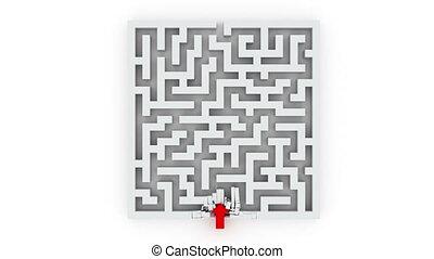 labyrinthe, par