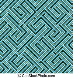 labyrinthe, seamless, texture