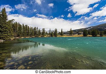 Lac Beauvert in Jasper Park