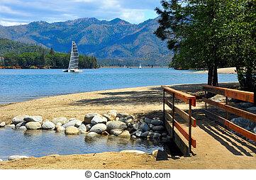 lac, californie, whiskeytown