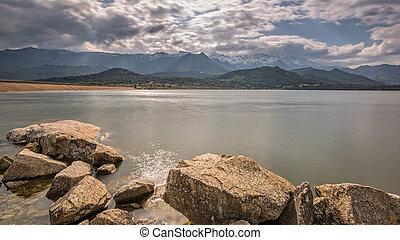 Lac de Codole in Balagne region of Corsica - Lac de Codole ...