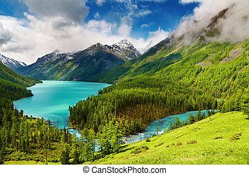 lac montagne