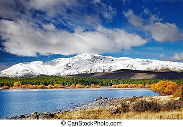 lac tekapo, nouvelle zélande