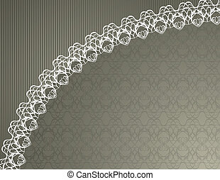 Lace Background -  French lace background