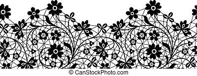 lace border card
