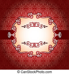 Lace frame and design elements