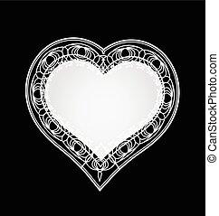 Lace Heart ribbon