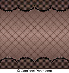 Lace pattern background - White vector lace pattern...
