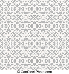 Lace pattern with white shapes in art deco style