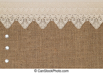 Lace  - Fabric textile texture and lace for background