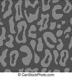 Lace seamless leopard pattern