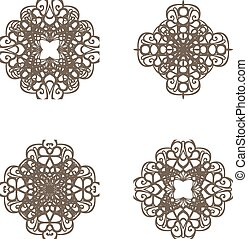 Lace symbols
