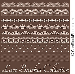 Laces Brushes Set - Set of laces with therir brushes.