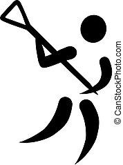 lacrosse, ícone
