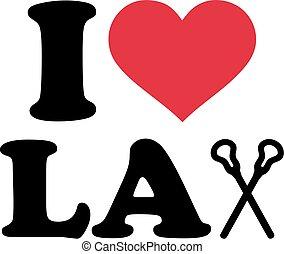 lacrosse, liebe, stöcke