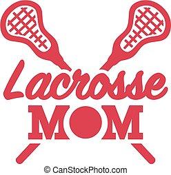 lacrosse, maman