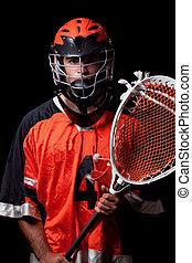 lacrosse spieler