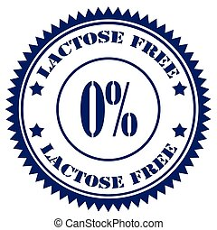 Lactose Free-stamp