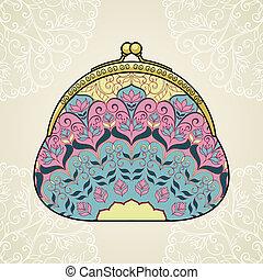 Lacy elegant purse.