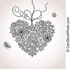 lacy, hjerte
