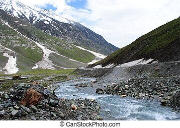 Ladakh mountain landscape