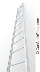 Ladder - 3D Illustration.