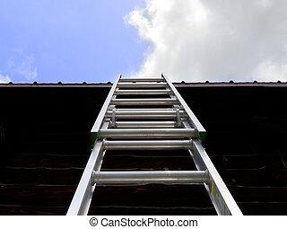 ladder, hemel