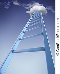 Ladder into sky