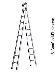 ladder isolated on white background. 10 EPS