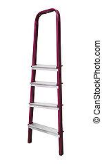 ladder, metaal, vrijstaand