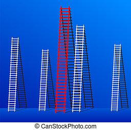 ladder of success.