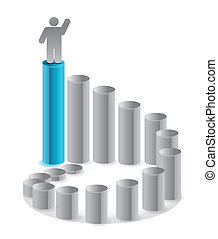 ladder of success illustration