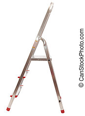 ladder on a white background