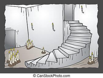Ladder scene