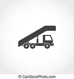 ladder, schaaf, pictogram