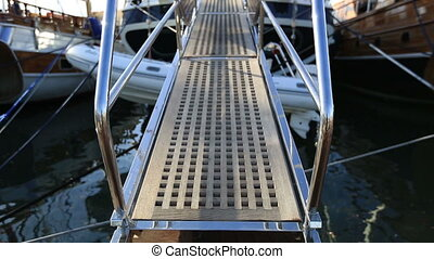 ladder - yacht boarding ladder