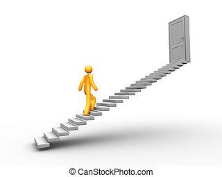 ladder, succes