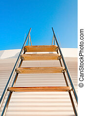 Ladder to the blue sky