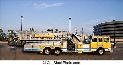 Ladder Truck side