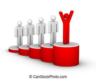 ladder van succes