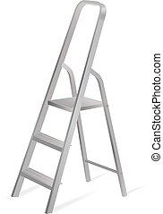 Ladder. Vector illustration