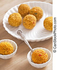 laddoo, indiano, dolci