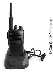 ladegerät, sender, radio, tragbar