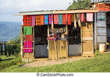 laden, afrikas, andenken, maasai, osten, kunst, kenia