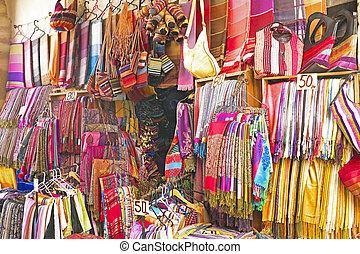 laden, marokko, handcrafts, markt